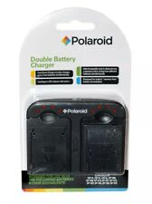 Polaroid Double Dual Battery Charger For Canon Batteries NB-4L NB-5L NB-6L US/Uk