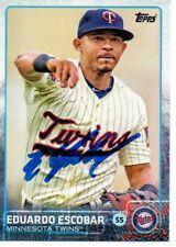 MLB Autographed Items Sports Memorabilia, Fan Shop & Sports Cards EDUARDO ESCOBAR Signed/Autographed 2016 TOPPS CARD Minnesota Twins #360 w/COA