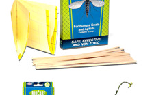 BioCare Gnat Stix Indoor Traps for Fungus Gnats and Aphids, Nontoxic and Pest.