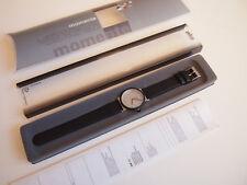 Braun AW12 Typ 3811 Quartz Wrist Watch Hartwein 2003 NOS Made in Germany black