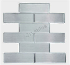 "Crystiles® Peel&Stick Self-Adhesive Tiles, Item# 91010846, 10""X10"", Set of 6"