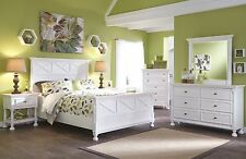 Ashley Kaslyn Country Cottage Style Queen 6 Piece Panel Bed Set Furniture B502