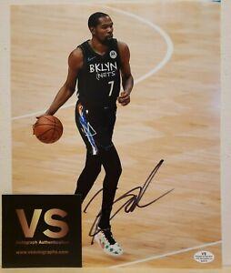 Kevin Durant Brooklyn Nets Autographed 8x10 Photo w/COA