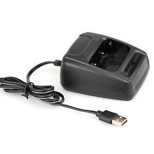 USB Radio Battery Charger For BaoFeng BF-666S BF-777S BF-888S Retevis H777 USA