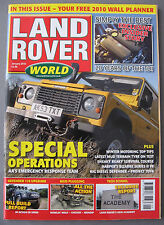 Land Rover World Magazine January 2010 LRW 01/10