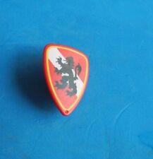 Playmobil Escudo rojo Leon negro caballero knight shield Ritterschild panneau