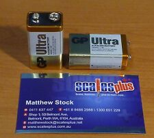 50x 9V GP Ultra Batteries 565mAh Alkaline 6LR61 Smoke Fire Alarm Radio Battery