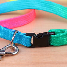 Pet Puppy Dog Collar Leash Soft Walking Harness Lead Adjustable Chic 1pc