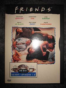 DVD FRIENDS SAISON 1 EPISODES 1-6 WB BOITIER CARTONNE