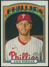 2021 Topps Heritage Base #355 Zack Wheeler - Philadelphia Phillies