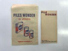 CARNET PUBLICITAIRE PILE WONDER + SACHET PAPIER