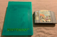 Star Wars Episode I 1 Racer AUTHENTIC Nintendo N64 Game (Cart Only) w/Clear Case