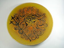 "POOLE Pottery - Large 16"" Charger - AEGEAN Pattern - NEPTUNE"