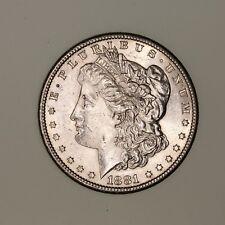 1881-S Morgan Dollar - Uncirculated, BU