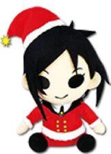 """*NEW* Black Butler: Sebastian Michaelis Christmas Festive 6"""" Plush by GE"""