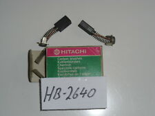 HB-2640 Kohlebürsten Satz 981-612Z Hitachi