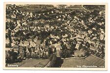 Schleswig, Feldpost 1939, Luftbild um 1936
