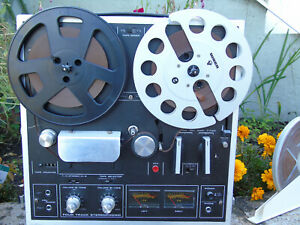 Vintage Akai 1721L Reel to Reel , with Uher reels and tapes