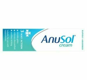 Anusol 23g - 3 Way Action - Hemorrhoids Piles Anal Itching Treatment