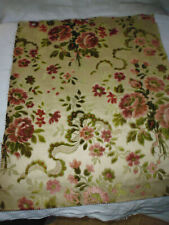 Coupon tissu ameublement Velours french fabric style 17e 18e 48x40 cm / 16