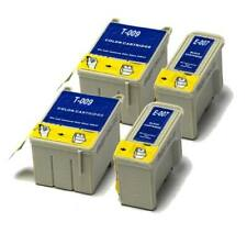 2x Black & 2x Colour Compatible (non-OEM) Ink Cartridges to replace T007 & T009