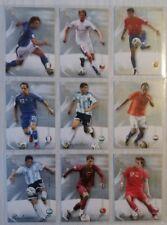 FUTERA WORLD FOOTBALL 2007-COMPLETO 200 Carte Di Base Set-ronaldo messi +
