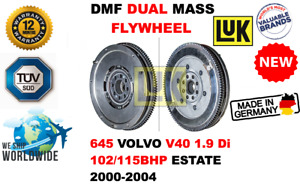 FOR 645 VOLVO V40 1.9 Di 102/115BHP ESTATE 2000-2004 NEW DUAL MASS DMF FLYWHEEL