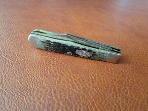2003 Case Bone 6225 1/2 Coke Bottle Knife Great Condition! 022p