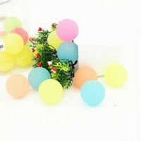 Dia 40mm Plastic Bouncing Balls Super Bouncy Elastic Kids Toy Gift Party Favor