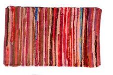 Red Multi Color Area Rug 2 x 3' Doormat Indoor Floor Kitchen Bath Mat 24 x 36 in