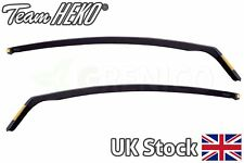 Ford Fiesta mk7 3door hatchback 2008-2017 wind deflectors 2pc HEKO TINTED