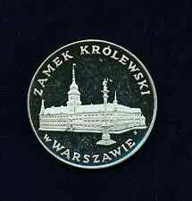 "POLAND  1975  100  ZLOTYCH  ""ROYAL CASTLE IN WARSAW""   CHOICE  PROOF"