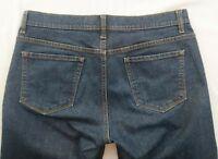 GAP Women's Blue Jeans Stretch Low Rise Boot Cut Cotton Blend Jeans Size 10L