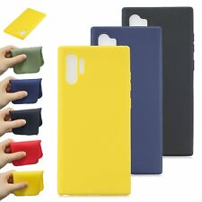 For Samsung Galaxy Note 10+ S10 S9 S8 Soft Silicone Shockproof TPU Case Cover