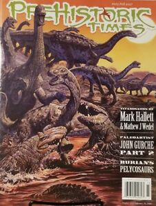 Prehistoric Times Fall 2017 Titanosaurs By Mark Hallet  FREE SHIPPING mc17
