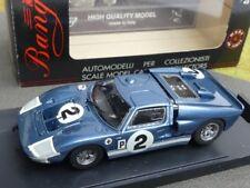 1/43 Bang ford Mk II Sebring 66 metalizado azul #2 7091