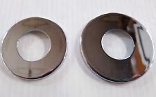 Chrome Dust Shield Covers For Harley Neck Bearings BT 49-Ltr & Sportster 82-03