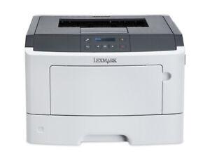 Lexmark MS410dn laser printer Legal, Letter Network,USB 410