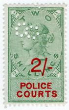 (I.B) QV Revenue : Police Courts 2/-