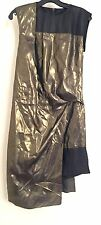 NWT Helmut Lang Metallic Leather RARE RUNWAY SAMPLE dress 2