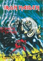 "IRON MAIDEN AUFKLEBER / STICKER # 70 ""THE NUMBER OF THE BEAST"""