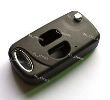 Remodel Uncut Flip Folding Remote Key Shell Case For Toyota Corolla Camry Prado