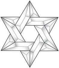 Stained Glass Supplies Star of David Bevel Cluster Ec210