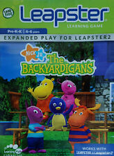 The Backyardigans leapster 1 & 2 learning game kids leap frog new