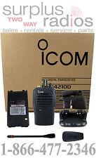 ICOM F4210D 01 RC UHF 400-470MHZ RADIO POLICE FIRE 16CH 4W Digital IDAS ANALOG