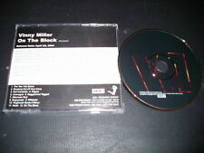 ADVANCE PROMO Vinny Miller CD On the Block STARRY SMOOTH HOUND 4AD Records 2004