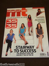 MANAGEMENT TODAY - THE MIGRANTS MAKING IT BIG - JULY 2012