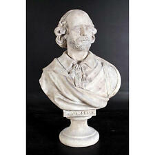 William Shakespeare Sculpture Elizabethan Playwright Bard Grand Scale Bust