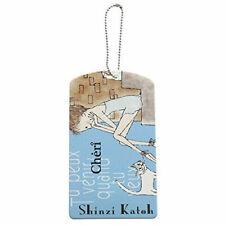 SHINZI KATOH PASS CASE ID HOLDER CHERI BLUE ZI02547