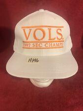 Vintage Tennessee Vols Hat Cap 1997 SEC Champs Adjustable Snapback